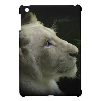 León blanco raro salvaje, gato grande, León-Amante