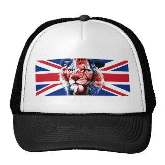 León británico gorro
