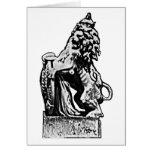 León británico rv del emblema los regalos de Zazzl Tarjeta