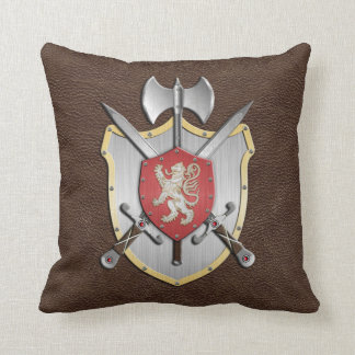 León Brown del escudo de la batalla Cojin