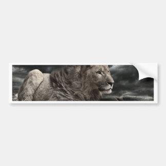 León Pegatina Para Coche