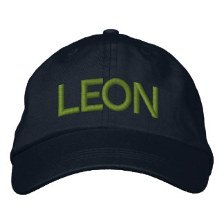 Leon Cap Embroidered Hats