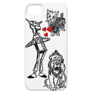 León cobarde del hombre de la lata de mago de Oz Funda Para iPhone SE/5/5s