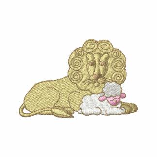 León con el cordero
