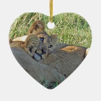 León Cub adorable Ornaments Para Arbol De Navidad