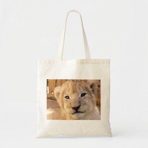 León Cub lindo Bolsas