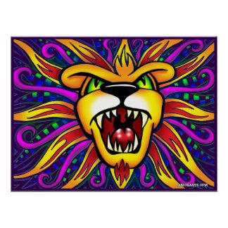 León de AMOKArts del poster de Judah