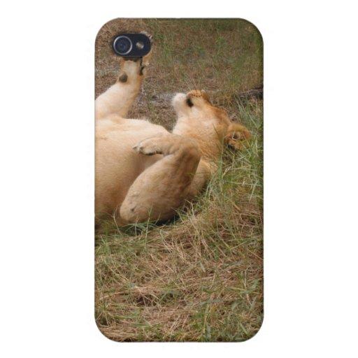 León de Barbary i iPhone 4 Carcasa
