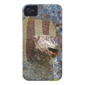 León de Gaudi Case-Mate iPhone 4 Cárcasa
