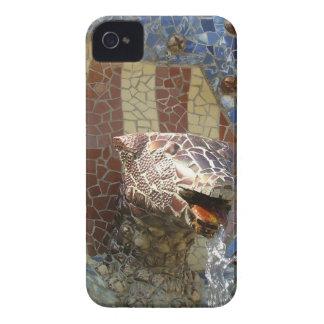 León de Gaudi iPhone 4 Case-Mate Carcasa