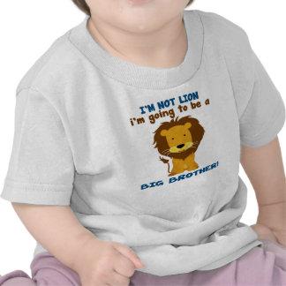 León de hermano mayor camisetas