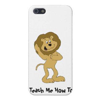 León de Hip Hop del dibujo animado que hace el Dou iPhone 5 Cobertura
