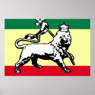León de Judah, bandera de Estonia Póster