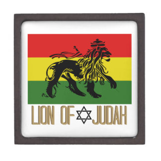 León de Judah Cajas De Joyas De Calidad