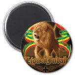 León de Judah Imán Redondo 5 Cm
