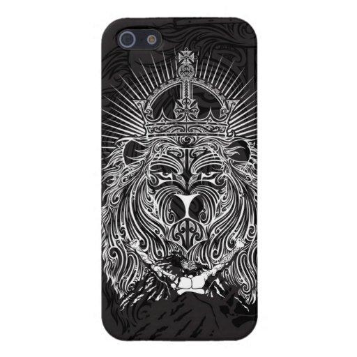 León de Judah iPhone 5 Cárcasa