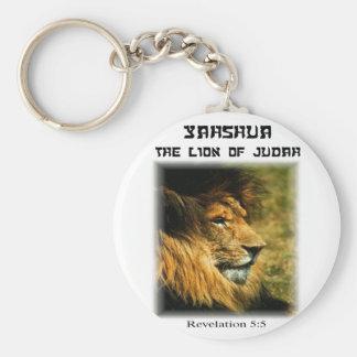 León de Judah Llavero Redondo Tipo Pin