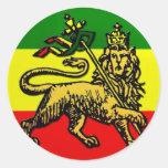 León de Judah Pegatinas Redondas