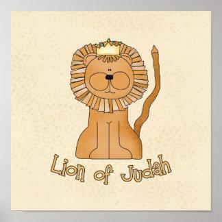 León de Judah Póster