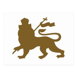 León de Judah Tarjetas Postales