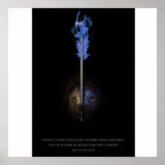 León de Judah y la espada de la rectitud Posters