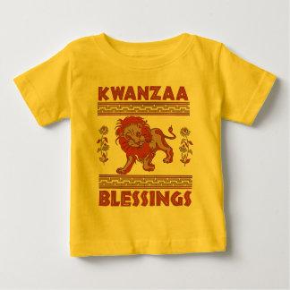 León de Kwanzaa Playera De Bebé