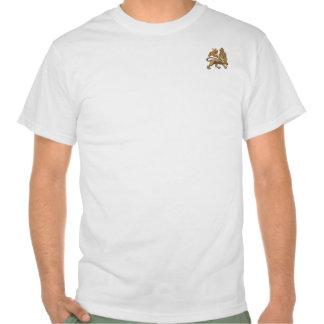 León de la camiseta blanca básica de Judah