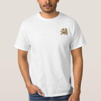León de la camiseta blanca básica de Judah Playera