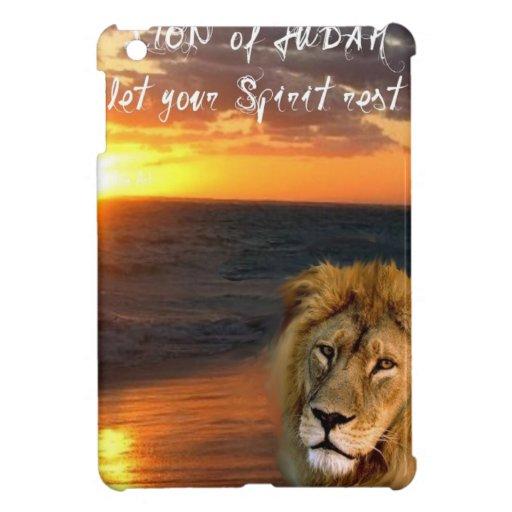 León de la colección de Judah iPad Mini Carcasa