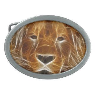 León de la fantasía hebilla cinturon