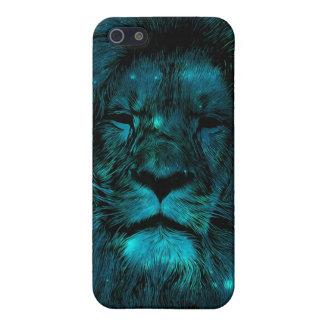 León de la galaxia del trullo iPhone 5 funda