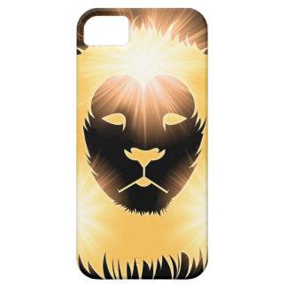 León de la luz iPhone 5 cárcasas