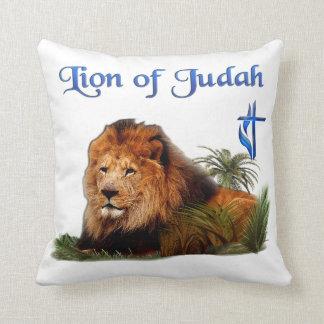 León de la mercancía de Judah Cojín Decorativo