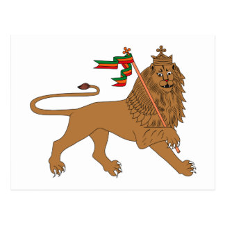 León de la postal de Judah