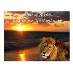León de la postal inspirada de Judah