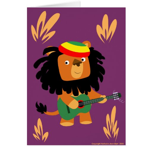 León de la tarjeta de Zion
