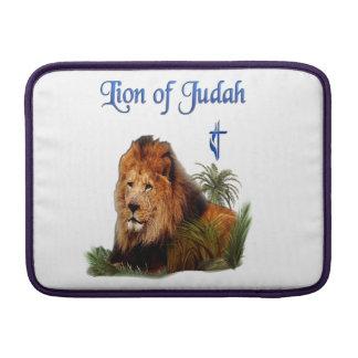León de las cajas del teléfono de Judah Fundas Para Macbook Air