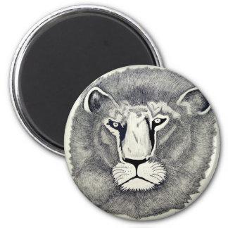 León de Leo por Piliero Imán Redondo 5 Cm
