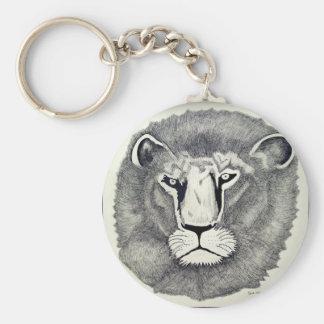 León de Leo por Piliero Llavero Redondo Tipo Pin