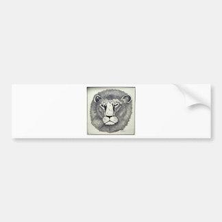León de Leo por Piliero Pegatina Para Auto
