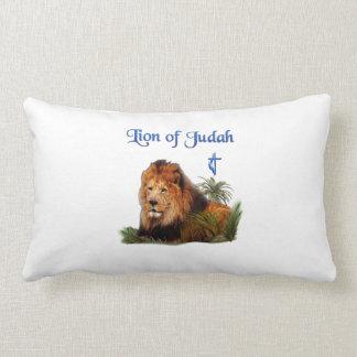 León de los regalos del cristiano de Judah Cojín Lumbar