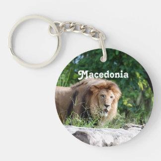 León de Macedonia Llaveros