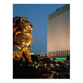 León de MGM sobre la mirada de la tira de Las Postal