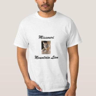León de montaña de Missouri de la camiseta Poleras