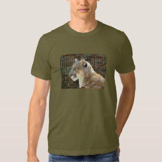 León de montaña/puma remera