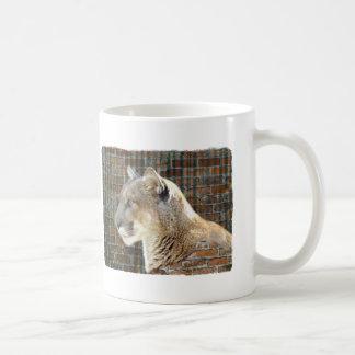 León de montaña/puma taza