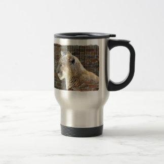 León de montaña/puma taza térmica
