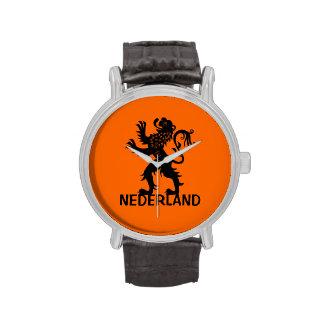 León de Nederland Relojes De Pulsera