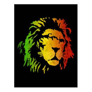 León de Rasta del león del reggae de Zion Postal