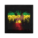 León de Rasta del reggae Caja De Regalo